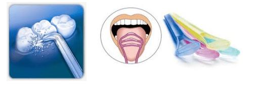 higiene dental lingual